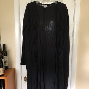 LuLaRoe Sweaters - XL Sarah Black LuLaRoe